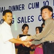 Company Dinner cum 10 million Sales dinner
